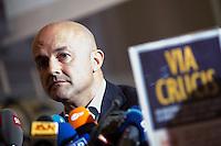 20151104 ROMA-CRONACA: VATILEAKS 2 - GIANLUIGI NUZZI PRESENTA 'VIA CRUCIS'