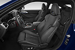 Front seat view of 2021 BMW M4-Coupe Competition 2 Door Coupe Front Seat  car photos
