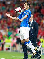Italy's Matteo Darmian during FIFA World Cup 2018 Qualifying Round match. September 2,2017.(ALTERPHOTOS/Acero)
