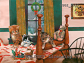 GIORDANO, CHRISTMAS ANIMALS, WEIHNACHTEN TIERE, NAVIDAD ANIMALES, paintings+++++,USGI2357,#XA#