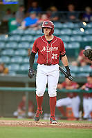 Altoona Curve first baseman Will Craig (25) at bat during a game against the Richmond Flying Squirrels on May 15, 2018 at Peoples Natural Gas Field in Altoona, Pennsylvania.  Altoona defeated Richmond 5-1.  (Mike Janes/Four Seam Images)