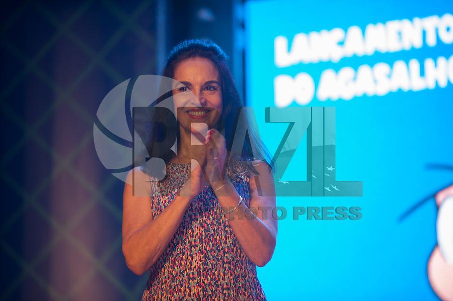 SÃO PAULO,SP, 23.03.2018 - CAMPANHA DO AGASALHO 2018- SP A primeira dama do estado Dona Lú Alckmin durante o lançamento da Campanha do Agasalho 2018. O evento acontece no Parque da Mônica região sul da capital paulista, na tarde desta sexta-feira, 23.(Foto: Rogério Gomes/Brazil Photo Press)