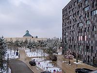 Melia Hotel + MUDAM- Musée d'Art Moderne Grand-Duc Jean, Luxemburg-City, Luxemburg, Europa<br /> , Luxembourg City, Europe
