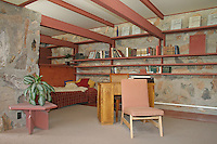 Interior Taliesin West Scottsdale near Phoenix Arizona