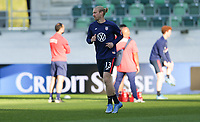 ST. GALLEN, SWITZERLAND - MAY 30: Tim Ream #13 of the United States warming up during a game between Switzerland and USMNT at Kybunpark on May 30, 2021 in St. Gallen, Switzerland.