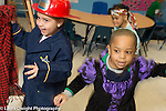 Education Preschool 4 year olds playing in dressup clothes