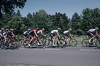 Team Sunweb pacing the peloton to control the race in service of Polka Dot Jersey / KOM leader Warren Barguil (FRA/Sunweb) & Michael Matthews (AUS/Sunweb)<br /> <br /> 104th Tour de France 2017<br /> Stage 16 - Le Puy-en-Velay › Romans-sur-Isère (165km)