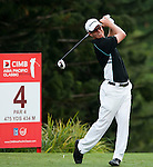 John Senden in action during Round 1 of the CIMB Asia Pacific Classic 2011.  Photo © Andy Jones / PSI for Carbon Worldwide