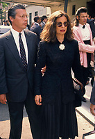 Bianca Jagger6255.JPG<br /> New York, NY 1989 FILE PHOTO<br /> Bianca Jagger; Steve Rubell funeral<br /> Digital photo by Adam Scull-PHOTOlink.net<br /> ONE TIME REPRODUCTION RIGHTS ONLY<br /> NO WEBSITE USE WITHOUT AGREEMENT<br /> 718-487-4334-OFFICE  718-374-3733-FAX