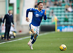 Hibs v St Johnstone…22.09.21  Easter Road.    SPFL<br />Michael O'Halloran<br />Picture by Graeme Hart.<br />Copyright Perthshire Picture Agency<br />Tel: 01738 623350  Mobile: 07990 594431