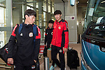 FC Seoul Players arrive at the Hong Kong International Airport for the HKFC Citi Soccer Sevens on 18 May 2016 in Hong Kong, China. Photo by Panda Man / Power Sport Images