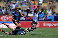 Argentina v Fiji men's pool match. Day two of the 2020 HSBC World Sevens Series Hamilton at FMG Stadium in Hamilton, New Zealand on Sunday, 26 January 2020. Photo: Dave Lintott / lintottphoto.co.nz