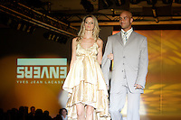 Montreal (Qc) CANADA, August 5, 2007 -<br /> <br /> James BLAKE ( USA 9),<br /> Tennis Players wears an ENVERS creation by Yves-Jean Lacasse in a benefit  fashion show  for Young Tennis, August 5th 2007, at the Queen Elizabeth Hotel in Montreal.  <br /> <br /> Photo : (c) 2007 Pierre Roussel - Images Distribution