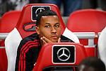 Nederland, Amsterdam, 15 augustus 2015<br /> Eredivisie<br /> Seizoen 2015-2016<br /> Ajax-Willem ll (3-0)<br /> Ricardo van Rhijn van Ajax zit op de reservebank