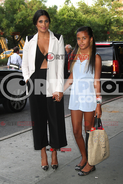 NEW YORK, NY - JULY 25: Rachel Roy and Ava Dash at 'The Campaign' New York Premiere at Sunshine Landmark on July 25, 2012 in New York City. © RW/MediaPunch Inc. /NortePhoto.com<br />