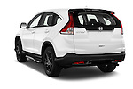 Car pictures of rear three quarter view of 2014 Honda CR-V Lifestyle 5 Door Suv Angular Rear