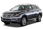 Front three quarter view of a 2013 Lexus RX 450H