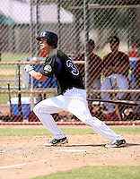 Shane Lowe / Colorado Rockies 2008 Instructional League..Photo by:  Bill Mitchell/Four Seam Images