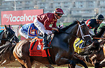 DEL MAR, CA  AUGUST 1:  #7 Shedaresthedevil, ridden by Florent Geroux, at the start of the Clement L. Hirsch Stakes (Grade 1) Breeders Cup Win and You're In Distaff Division on August 1, 2021 at Del Mar Thoroughbred Club in Del Mar, CA.