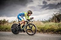 Primoz Roglic (SVK/Jumbo-Visma)<br /> Elite Men Individual Time Trial<br /> from Northhallerton to Harrogate (54km)<br /> <br /> 2019 Road World Championships Yorkshire (GBR)<br /> <br /> ©kramon