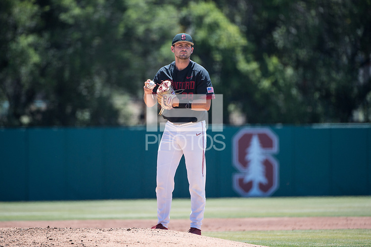 STANFORD, CA - MAY 29: Alex Williams during a game between Oregon State University and Stanford Baseball at Sunken Diamond on May 29, 2021 in Stanford, California.