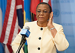 U. Joy Ogwu, Permanent Representative of Nigeria to the UN and President of the Security Council for