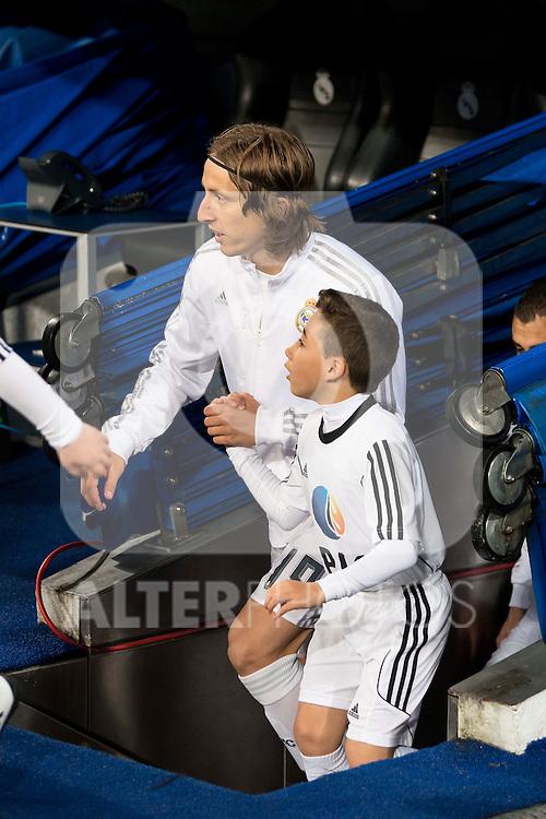Real Madrid's Luka Modric during La Liga match. March 20,2016. (ALTERPHOTOS/Borja B.Hojas)