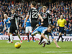 Andy halliday brought down for a penalty kick