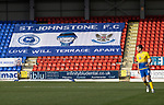 St Johnstone v Brechin City…10.10.20   McDiarmid Park  Betfred Cup<br />Banners in the North Stand<br />Picture by Graeme Hart.<br />Copyright Perthshire Picture Agency<br />Tel: 01738 623350  Mobile: 07990 594431