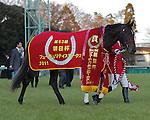 Alfredo wins the 63rd Asahi Hai Futurity Stakes at Nakayama Racecourse on December 18th, 2011