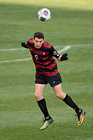 Chester, PA - Sunday December 10, 2017: Adam Mosharrafa. Stanford University defeated Indiana University 1-0 in double overtime during the NCAA 2017 Men's College Cup championship match at Talen Energy Stadium.