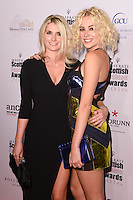 Pixie Lott and sister, Charlotte<br /> at the Scottish Fashion Awards 2016, Rosewood Hotel, London.<br /> <br /> <br /> ©Ash Knotek  D3186  21/10/2016