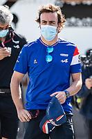 3rd June 2021; Baku, Azerbaijan;  ALONSO Fernando (spa), Alpine F1 A521 during the Formula 1 Azerbaijan Grand Prix 2021 at the Baku City Circuit, in Baku, Azerbaijan -