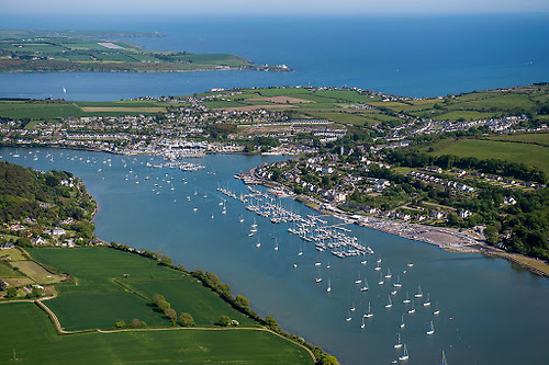RCYC in Crosshaven in Cork Harbour