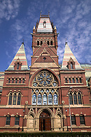 Memorial Hall and Sanders Theater, Harvard University, Cambridge, M