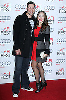 """HOLLYWOOD, CA - NOVEMBER 12: Ace Young, Diana DeGarmo at the AFI FEST 2013 - """"Lone Survivor"""" Premiere held at TCL Chinese Theatre on November 12, 2013 in Hollywood, California. (Photo by David Acosta/Celebrity Monitor)"""