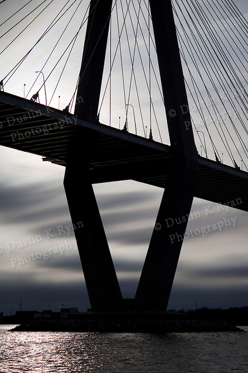 Arthur Ravenel Jr Bridge over the Cooper River in Charleston South Carolina