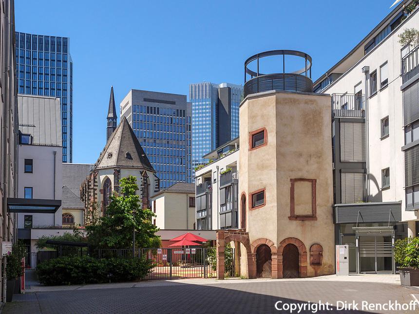 Karmeliterkirche, Frankfurt, Hessen, Deutschland, Europa<br /> Carmelite Church, Frankfurt, Hesse, Germany, Europe