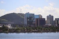VITÓRIA, ES, 29.12.2019 - PRAIA-ES - Movimentação na Praia da Curva da Jurema, em Vitória - ES, neste domingo, 29. (Foto Charles Sholl/Brazil Photo Press)