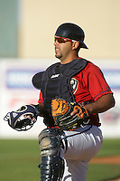 May 2, 2010: Jose Lopez of the Lancaster JetHawks during game against the Lake Elsinore Storm at Clear Channel Stadium in Lancaster,CA.  Photo by Larry Goren/Four Seam Images