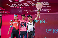 Egan Bernal (COL/Ineos Grenadiers) wins the 104th Giro d'Italia 2021 (2.UWT)<br /> Damiano Caruso (ITA/Bahrain - Victorious) finishes 2nd & Simon Yates (GBR/Bike Exchange) 3rd<br /> <br /> Stage 21 (final ITT) from Senago to Milan (30.3km)<br /> <br /> ©kramon