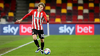 Mads Roerslev of Brentford in action during Brentford vs Bristol City, Sky Bet EFL Championship Football at the Brentford Community Stadium on 3rd February 2021