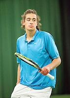 15-3-09, Rotterdam, Nationale Overdekte Jeugdkampioenschappen 12 en 18 jaar, David Pel