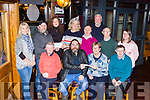 Kerry Bikers presents the proceeds of their Christmas Yo Run to charities in Scotts Hotel Killarney on Thursday front row l-r: JJ O'Shea, Josephine Clifford Mt Eagle Lodge Tralee, Patrick Herlihy. Back row: Patricia O'Donoghue, Daniel O'Leary, Kate Foley, Fiona Carroll St Francis Special School Beaufort, John SAvage, John Keogh, Fergus Moriarty and Deidre O'Connor