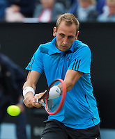 Netherlands, Den Bosch, 19.06.2014. Tennis, Topshelf Open, Thiemo de Bakker (NED)<br /> Photo:Tennisimages/Henk Koster