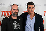 "Luis Tosar and Mario Casas attends to the presentation of the spanish film ""Toro"" at Hotel Hesperia in Madrid, April 19,2016. (ALTERPHOTOS/Borja B.Hojas)"