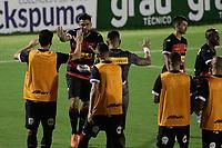 Campinas (SP), 01/03/2021 - Guarani - Ituano - Léo Santos comemora gol do Ituano. Partida entre Guarani e Ituano válida pelo Campeonato Paulista 2021, nesta segunda-feira (1) no estádio Brinco de Ouro em Campinas, interior de São Paulo.