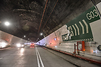 "LA LINEA - COLOMBIA, 29-08-2020: El túnel principal ""La Línea"" tiene una longitud de  8,65 km y hace parte de El Túnel de La Línea el proyecto de infraestructura vial más importnate de Colombia que está es fase final de construcción conectará de manera eficiente los departamentos colombianos de Quindío y Tolima. El plan además consta de 24 puentes y 20 túneles de diferentes longitudes. / The main tunnel ""La Línea"" has a length of 8.65 km and is part of El Túnel de La Línea, the most important road infrastructure project in Colombia, which is in the final phase of construction and will efficiently connect the Colombian departments of Quindío and Tolima. The plan also consists of 24 bridges and 20 tunnels of different lengths. Photo: VizzorImage / Gabriel Aponte / Staff"