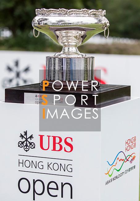 The Trophy during the day four of UBS Hong Kong Open 2017 at the Hong Kong Golf Club on 26 November 2017, in Hong Kong, Hong Kong. Photo by Yu Chun Christopher Wong / Power Sport Images