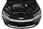 High angle engine detail of a 2021 Chevrolet Trailblazer LT 5 Door SUV